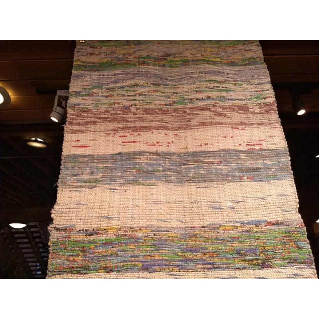 Textile 1950s Vintage Turkish Flat-Weave Kilim Rug - 2′6″ × 4′8″ For Sale - Image 7 of 9