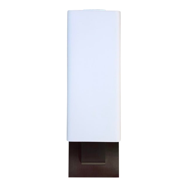 Tech Lighting Kisdon Wall Sconce in Satin Nickel For Sale