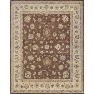 Mansour Genuine Handwoven Agra Rug - 8' X 10' For Sale