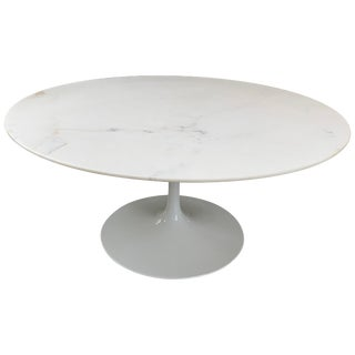 Knoll Marble Top Coffee Table For Sale