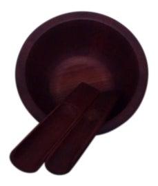 Image of Brown Serving Bowls