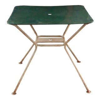French Late 19th Century Painted Garden Table For Sale