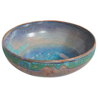 Sunset Plaza Ceramic Bowl by Andrew Wilder, 2018 For Sale