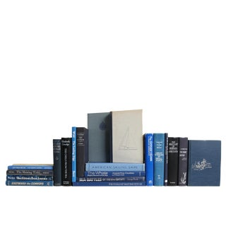 Deep Blue Nautical Collection, S/20 Custom Set For Sale