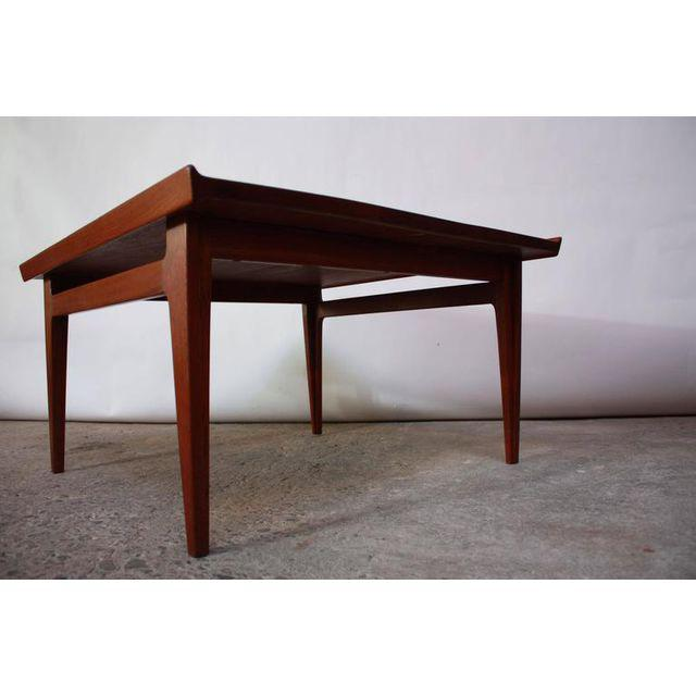 Early Finn Juhl for France and Daverkosen Teak Coffee Table For Sale - Image 5 of 11