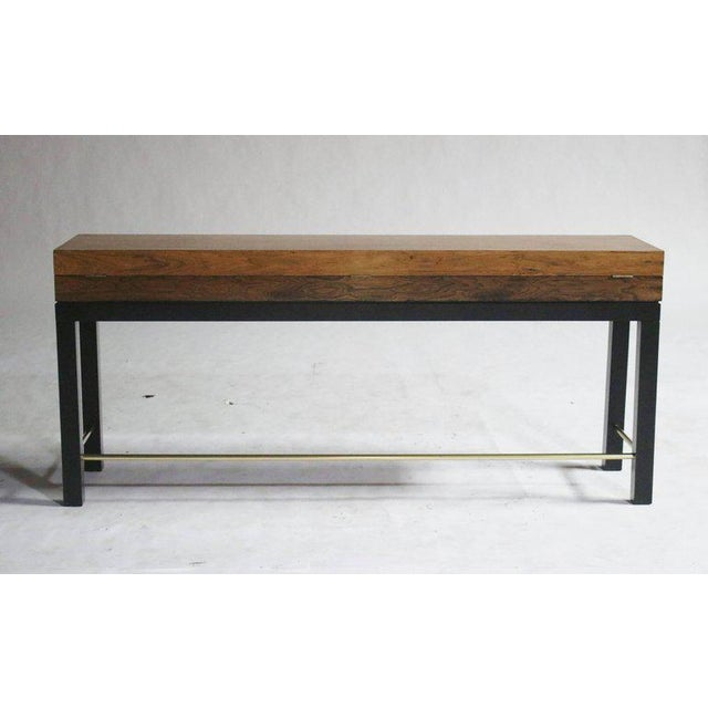Rosewood Console Chest For Sale - Image 4 of 7