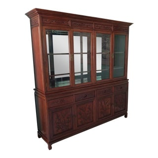 Asian Rosewood Dining Cabinet