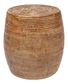 Image of Newly Made Rattan Side Tables