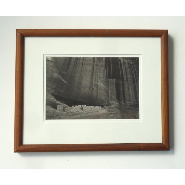 1980s Contemporary Photography of Canyon De Chelly White House Ruins by S Brian For Sale - Image 6 of 6