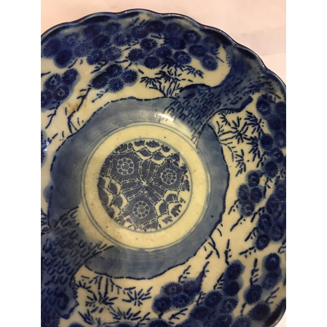 Blue & White Chinese Porcelain Dish - Image 3 of 6