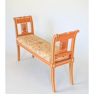 Italian Floral Bench Preview