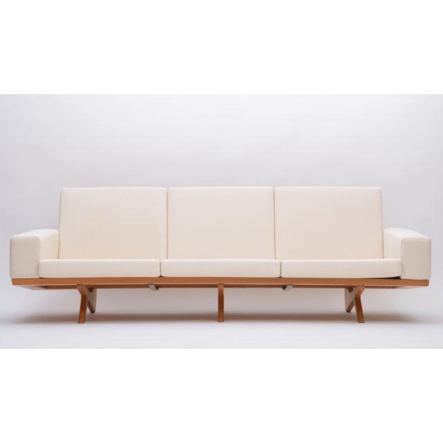 Oak Oak Sofa by Georg Thams for as Vejen Polstermøbelfabrik, 1964 For Sale - Image 7 of 12