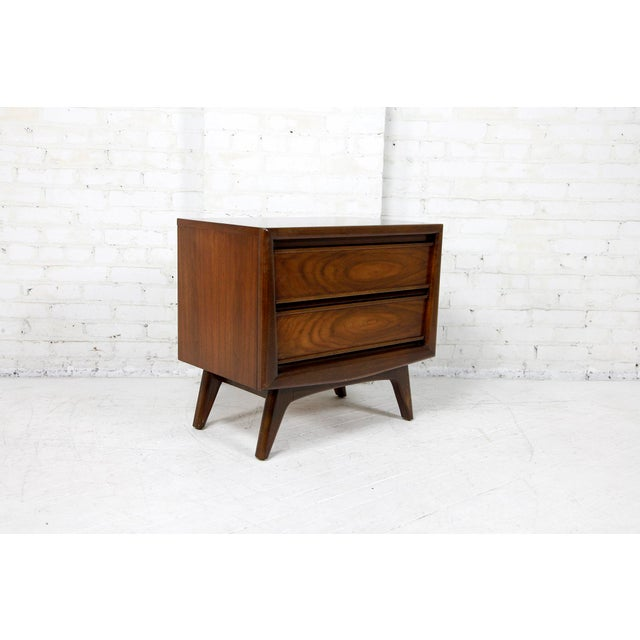 Vintage Mid-Century Modern Founders Furniture Nightstand