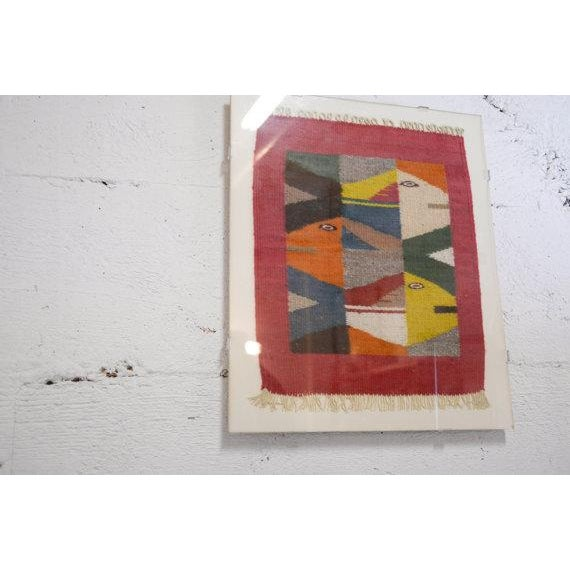 Vintage Oaxaca Fish Tapestry - Image 3 of 6