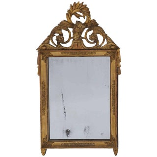 French Empire Giltwood Frame Mirror, Circa 1810 For Sale