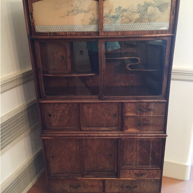 Antique Japanese Cabinet - Image 4 of 6