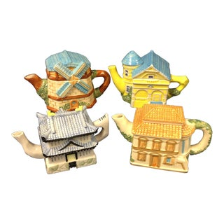 House of Katayama Tea Pots - Set of 4
