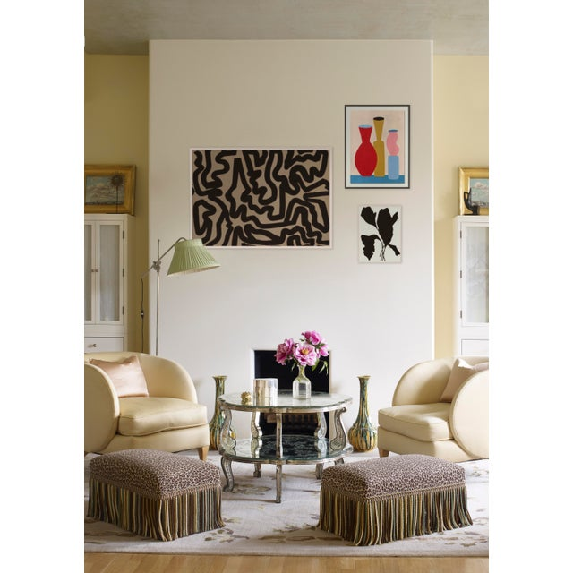 Contemporary Evening Abstraction Gallery Wall, Set of 3 For Sale - Image 3 of 10