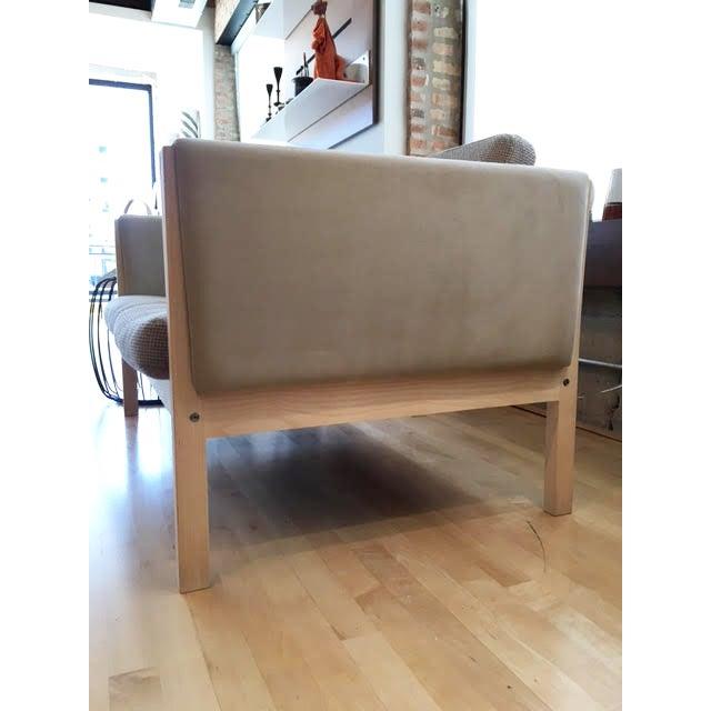 Carl Hansen Hans Wegner Ch162 Sofa For Sale - Image 4 of 4