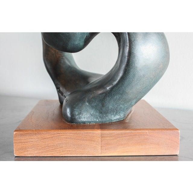 "Wood Austin Productions ""Portrait of a Woman"" Sculpture by Klara Sever 1979 For Sale - Image 7 of 13"
