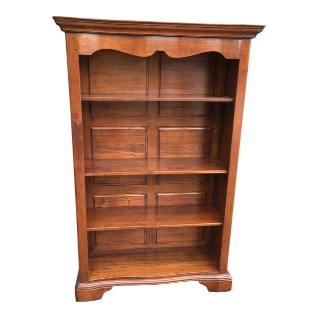Large Solid Walnut Bookcase - Image 1 of 6