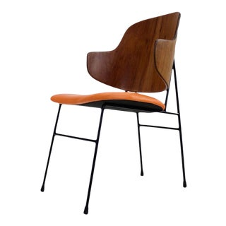 Classic Scandinavian Modern Chair by Ib Kofod Larsen. For Sale