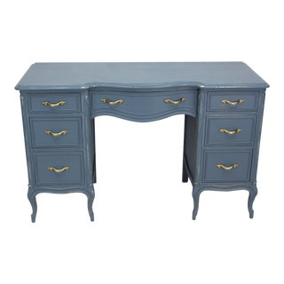 Vintage Provincial Style 7-Drawers Desk