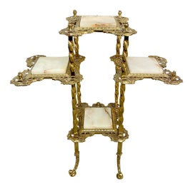 Image of Brass Plant Stands