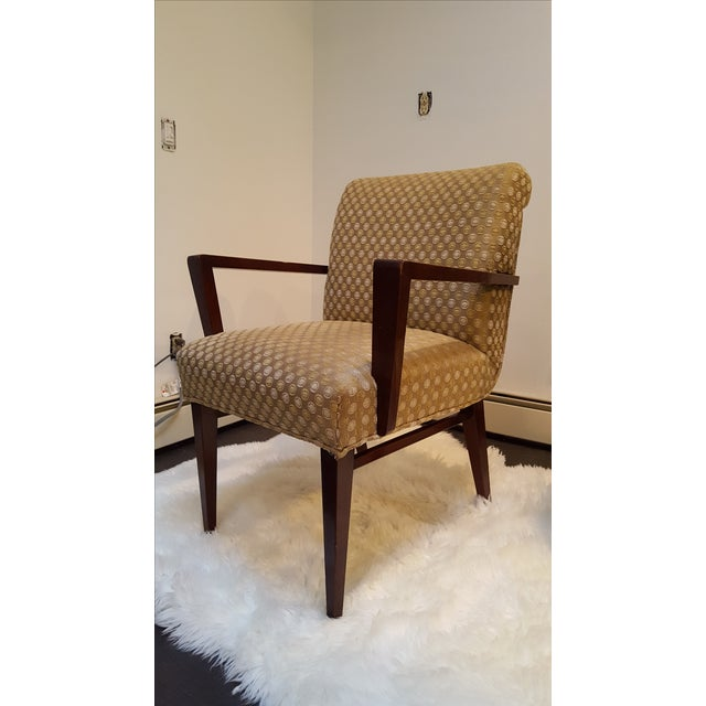 Mid-Century Upholstered Dining Chairs - Set of 6 - Image 4 of 10