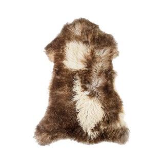 """Contemporary Natural Sheepskin Pelt - 2'4""""x3'6"""" For Sale"""