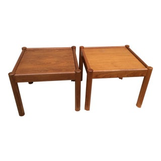 Mobler Mid-Century Danish Side Tables - A Pair