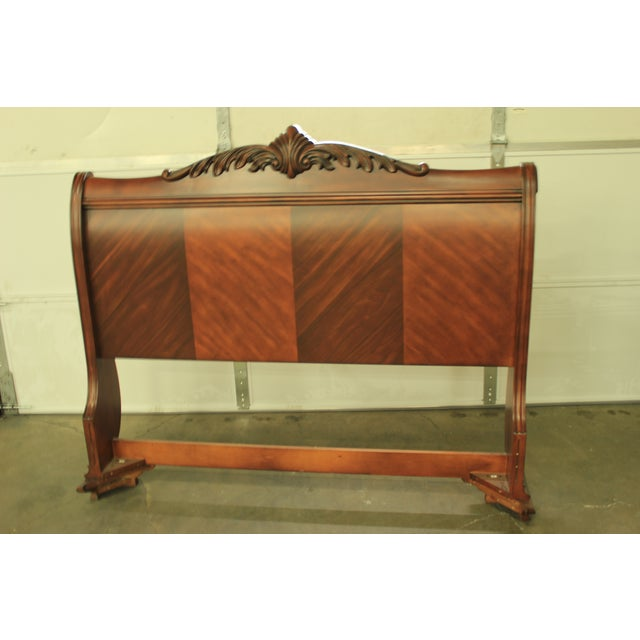 Tuscany Queen Sized Sleigh Bed Frame - Image 4 of 5