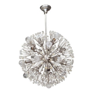 Sputnik Twelve-Arm Chandelier For Sale