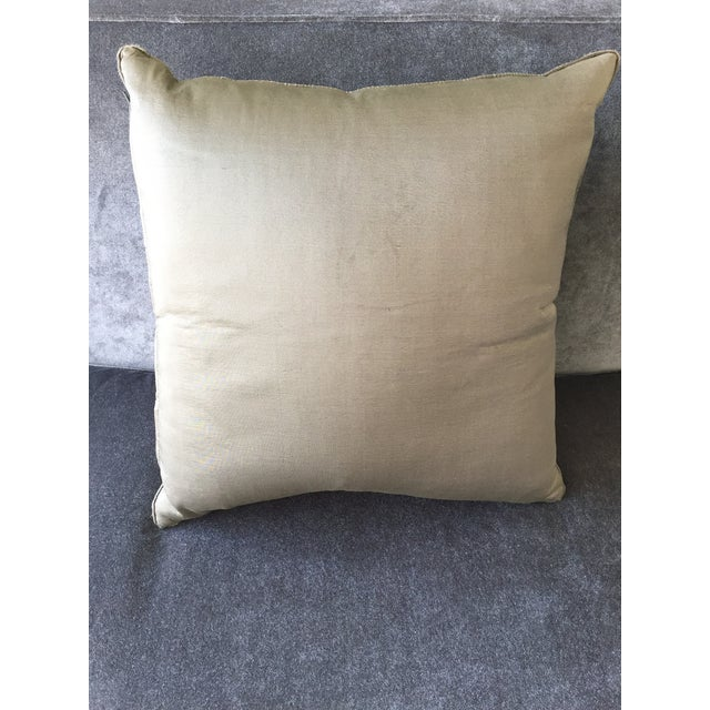 Christian Liaigre Silk Pillow For Sale In Los Angeles - Image 6 of 8