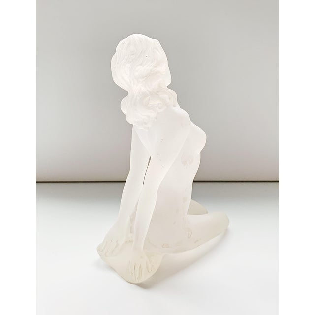 1980s Lucite Nude Female Sculpture For Sale - Image 4 of 7