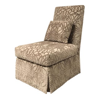 RJones Custom Charleston Slipper Chair For Sale