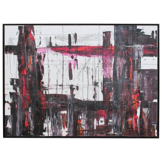 Early 21st Century Abstract Painting by Jeff House For Sale - Image 5 of 5