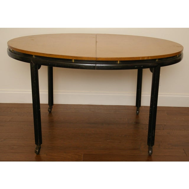 Baker Furniture New World Group Floating Top Table - Image 2 of 6