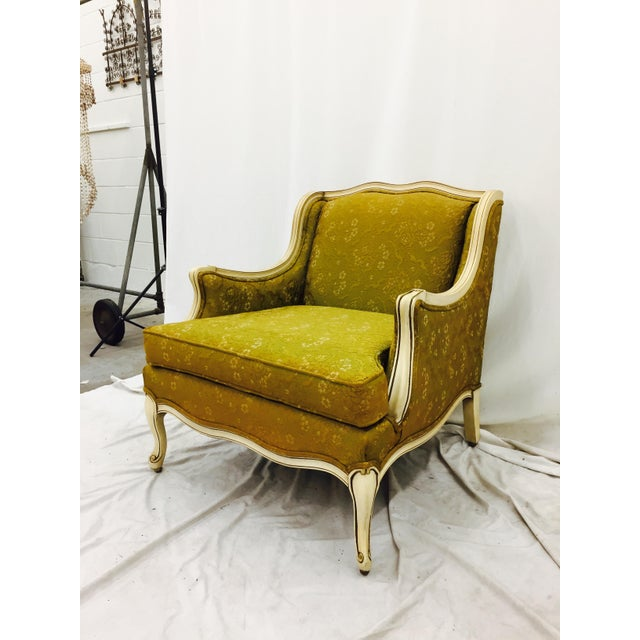 Vintage Hollywood Regency French Style Arm Chair - Image 3 of 11