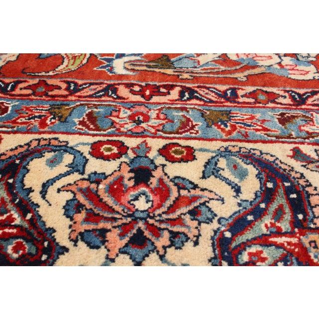 "Vintage Isfahan Persian Rug - 8'8"" X 13'2"" - Image 2 of 2"