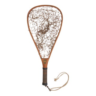 Vintage South Bend Fly Fishing Net For Sale