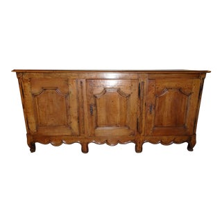 French Louis XV Walnut Enfilade For Sale