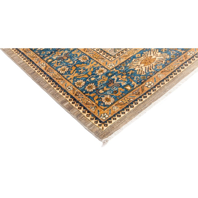 """Ziegler Hand Knotted Area Rug - 8' 4"""" X 9' 8"""" - Image 2 of 4"""