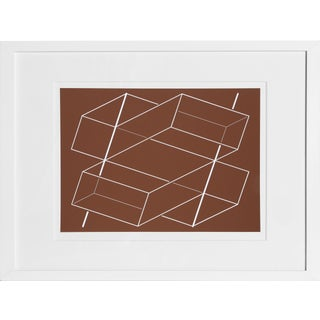 Josef Albers - Portfolio 1, Folder 3, Image 2 Framed Silkscreen For Sale