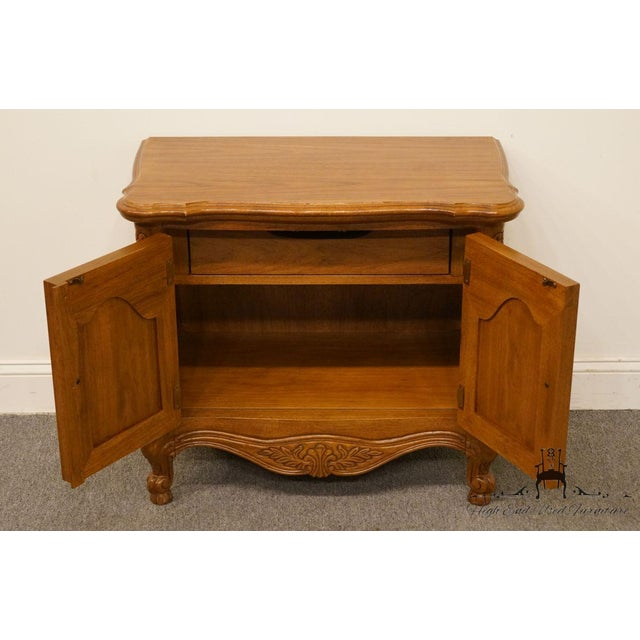 """Lexington Furniture Chateau Latour Collection French Country 30"""" Nightstand For Sale In Kansas City - Image 6 of 13"""