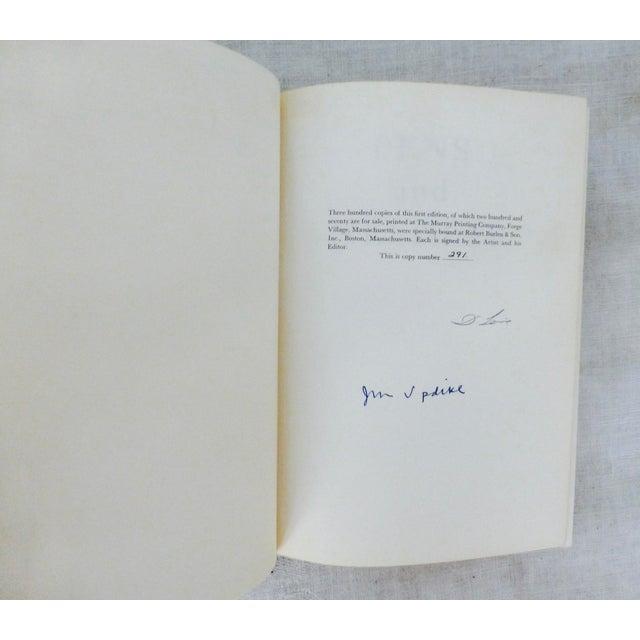 Pens & Needles Signed John Updike David Levine - Image 5 of 9