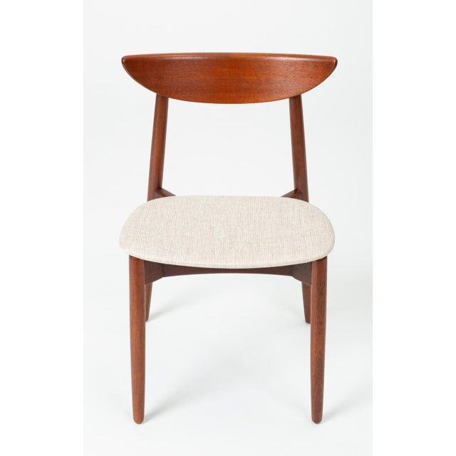 1960s Single Teak Dining / Accent Chair by Harry Østergaard for Randers Møbelfabrik For Sale - Image 13 of 13
