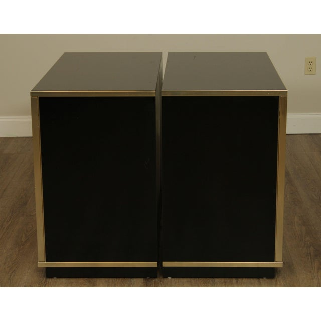 Contemporary Mirrored Door Cabinets - a Pair For Sale In Philadelphia - Image 6 of 13