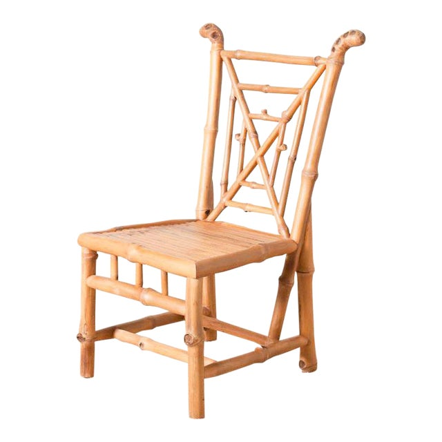Bamboo Side Chair For Sale