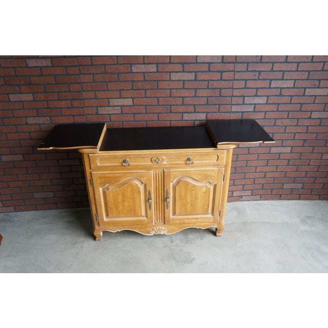 Ethan Allen Country French Server For Sale - Image 5 of 11